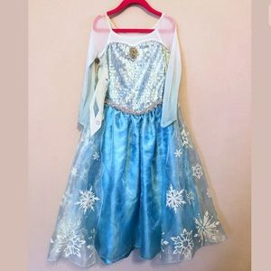 Disney Costumes - Disney store frozen Elsa dress
